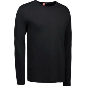 Interlock langærmet T-Shirt – ID 518