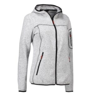 Strikfleece damecardigan – ID 853