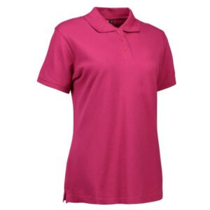 Stretch poloshirt | dame – ID 527