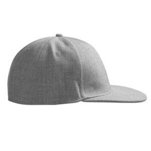 Uld-look cap | flad skygge – ID 066